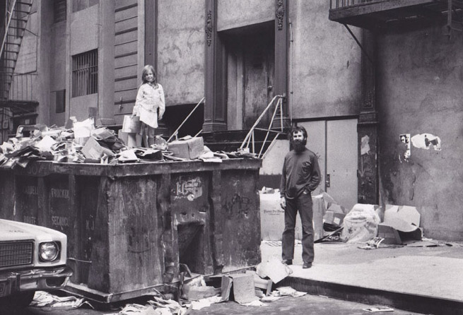 Dumpster Diving on Mercer Street