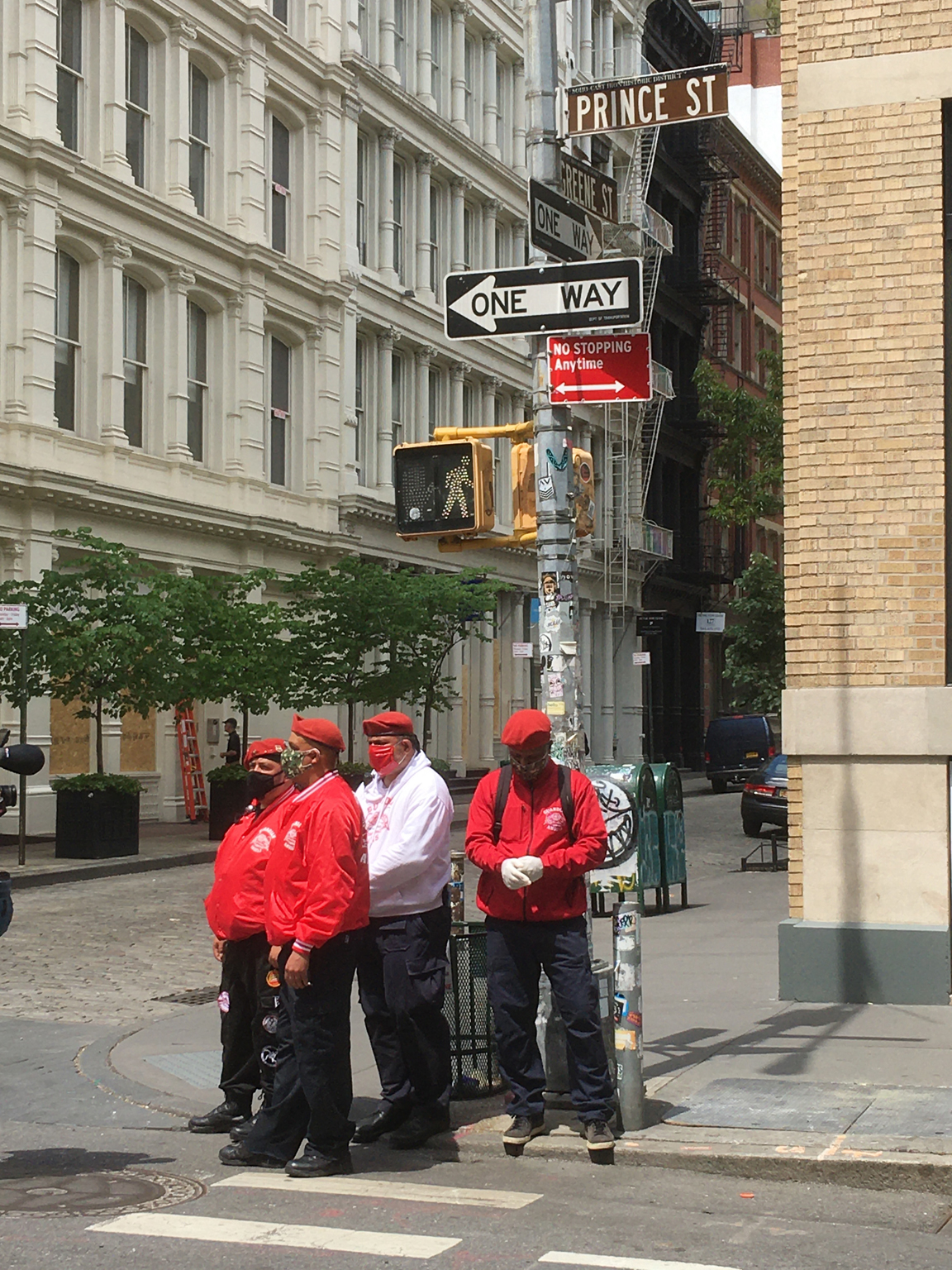 Guardian Angels on Prince Street