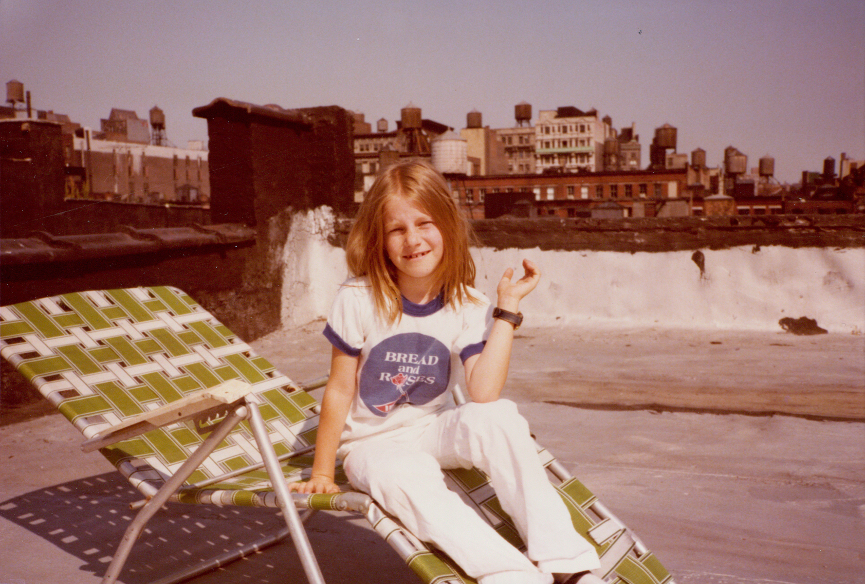 Jessica 1980 roof 69 Wooster St