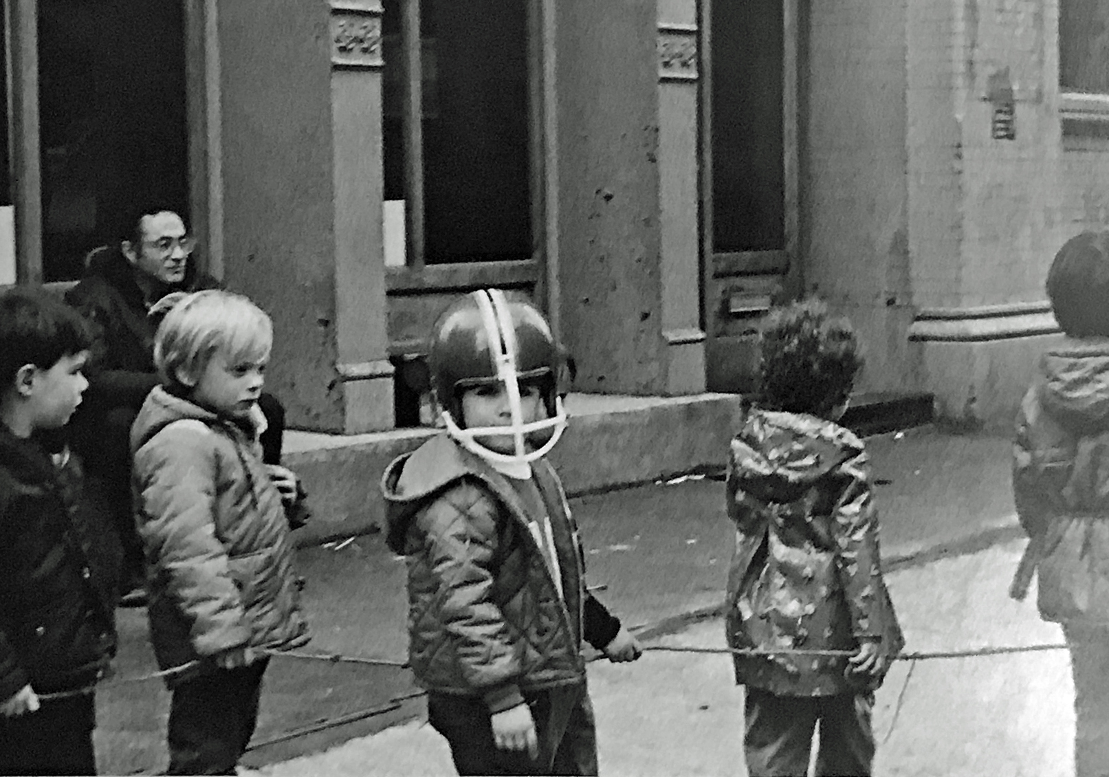 A group of children make their way through SoHo, ca. 1975 (photo: Jody Harrow)