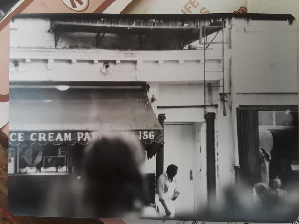 Wally's Ice Cream at 156 Spring Street 1981