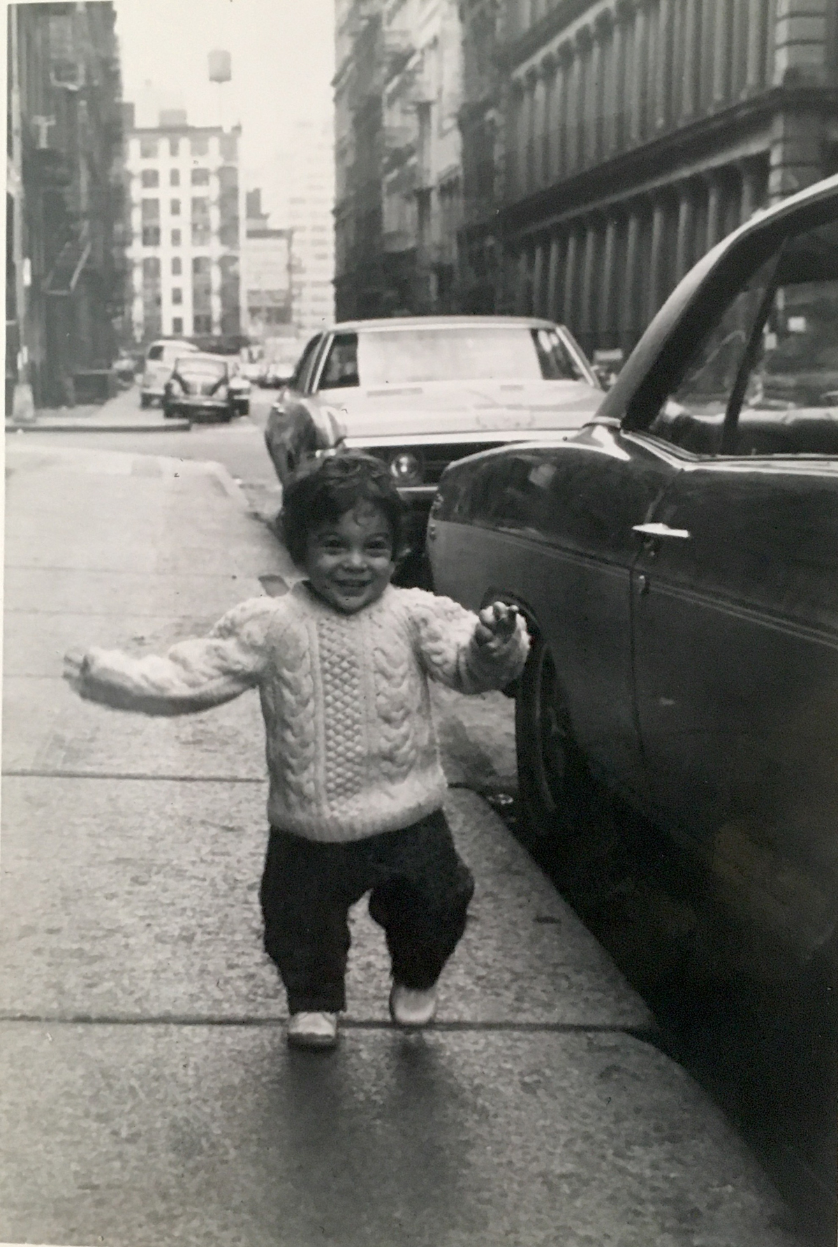 Me on Greene St., probably 1973 or 1974