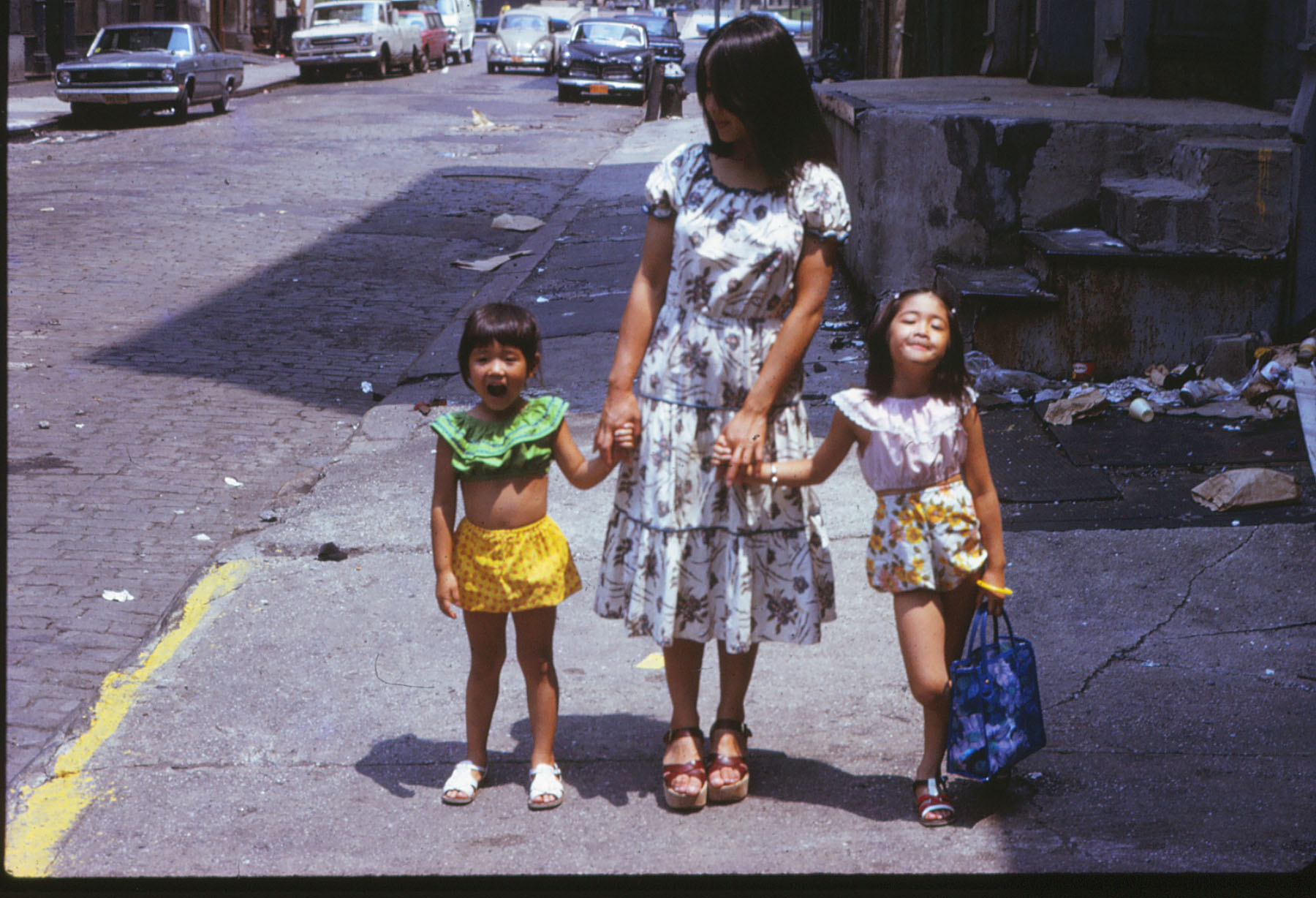 1973 Wooster Street L-R Becky, Ruby, Vanessa