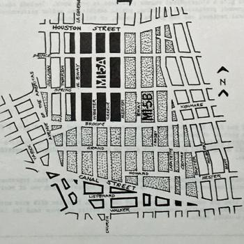 SoHo Zoning Map