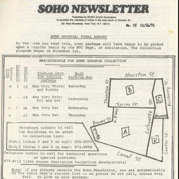 SoHo Trash Map