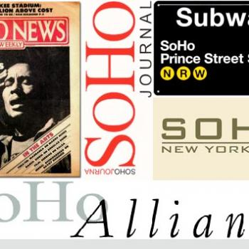 soho title collage
