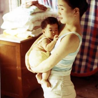 Fusako and Baby Yukie