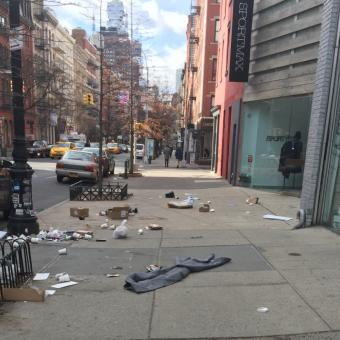 trash in soho